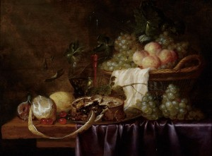 Still Life with Meat Pie