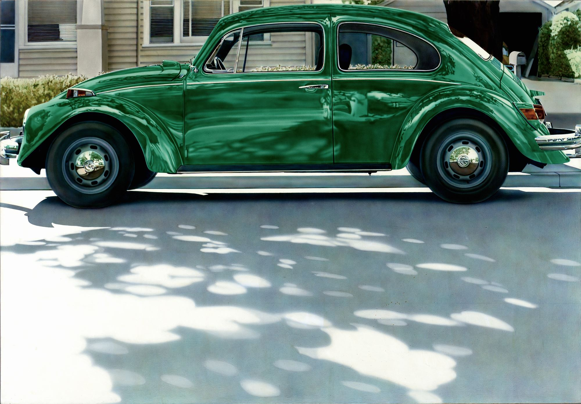 Green Volkswagen